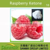 GMP Standard plant extract high quality 99% raspberry ketone/Fructus Rub/Framboise Extract weight loss