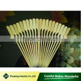 ZHUPING Factory Direct Disposable Bamboo Flat Kebab Skewers