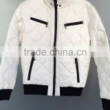 Men's down jacket liquidation stock for sale dead stock ready made garments stock lot