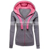 Inside fleece hoody women custom knit sweater Hoodies pullover custom blank cheap fleece hoody for men, wholesale alibaba new