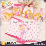 Cheap wholesale cute cotton panties kids underwear for girls