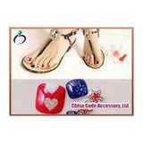 Assortment of Anchor Toenail Decals Diamond Fake Nails
