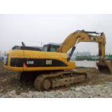 Second-Hand Hydraulic Caterpillar Crawler Excavator