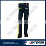 Hot sell sublimated printing youth baseball pants