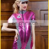 Wholesale hot cosplay pole dance clothing clubwear cheerleader costume