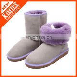 wholesale cheap customized women's classical wool half boots