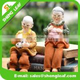 gold figurines wedding gift