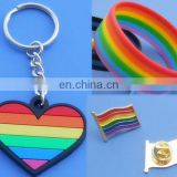Free Design Gay Pride Rainbow Dog Tag/Keychain/bracelets on Sale
