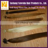 Good Feedback Direct hair factory wholesale price remy soft flat tip hair