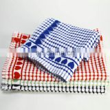 100% cotton jacquard kitchen tea towel
