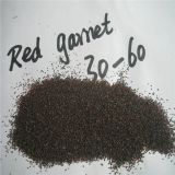 China manufacturer sandblasting media garnet 30/60 mesh for garnet machine