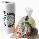 HDPE produce bag on roll
