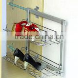 wardrobe accessories metal multifunctional twolayer shoes rack