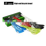 AEST bicycle parts, PVC bike saddles with steel rail