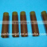 Burning resistance brown polyimide film tubing