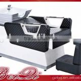 Beiqi 2016 Wholesale Price High End Hair Salon 3D Body Massage Shampoo Chair for Sale in Guangzhou