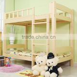 Wholesale solid wood pine wood dormitory student double bed,teak wood double bed                                                                         Quality Choice