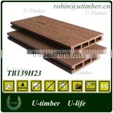 2.8meter Low maintenance WPC roof garden decking