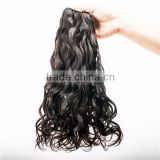 Asian virgin hair natural wave jazz wave hair with cutitcle