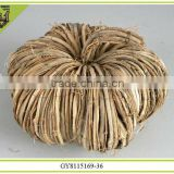 2014 beauty and fancy natural material pumpkin crafts for Hallowmas