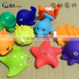 Rubber Sea Animal toy Bath water toy Set of 5