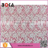 Good price african fashion beautiful 2015 embroidery chemical /water soluble milk fiber crochet lace fabric                                                                         Quality Choice