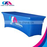 Custom Design Meeting Promotional Polyester Table Cloth , Advertising Table cover                                                                         Quality Choice