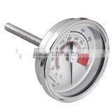 stainless steel wireless meat cooking bbq thermometer