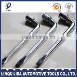 S15-S27 High Qualtiy Car Maintenance Hand Tool Carbon Steel L Shape Wheel Wrench For trucks