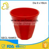 "most popular 3.5"" melamine red round shape cups wholesale"