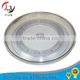 Hot sale and strong crystal glass lazy susan turnplate .hotel equipment for wedding/hotel