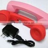 Wrieless Anti Radiation Retro bluetooth phone Handset for Iphone handset