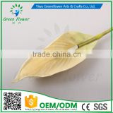 Greenflower 2016 Wholesale Real Touch Latex PU Spathiphyllum China Artificial Flowers Rose for wedding decoration