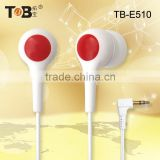New products 2016 China wholesale earphone case fashionable super bass unique plastic earbuds earphone mini earbuds