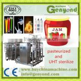 Ultra temperature instantaneous Fruit juice sterilize machine/green tea sterilizing equipment