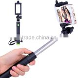 cartoon cute extend selfile stick monopod,selfie stick with bluetooth remote shutter,colorful wireless monopod bluetooth selfie