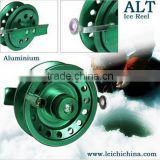 Latest design machine cut CNC ice fishing reel
