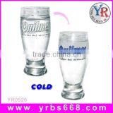 2014 new hight quality products promotional gift glass beer cup