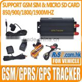GSM GPRS Car Vehicle GPS103A Locator Spy Realtime Tracking TK103A GPS Tracker