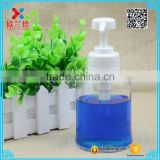 2016 cylinder 300ml liquid soap glass bottle with sprayer                                                                                                         Supplier's Choice