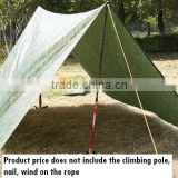 Outdoor mat, beach picnic cloth, wind rainproof sunshade awning, barbecues waterproof cloth, 3 * 3 m