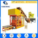 2015 TOBEMAC WJ QTJ4-25 Clay Block making machine hollow cement block making machine concrete Brick Making Machine                                                                         Quality Choice