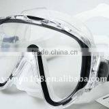 Full Face Scuba Silicone Diving Mask Snorkel Gear