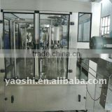 water filling machine/ mineral water plant/rinsing, filling and capping 3-in-1 machine, bottling machine, filler