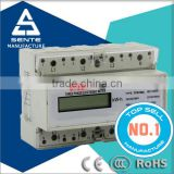 DTS7666 type three phase electronic LCD or analog hour din rail copper wire price per meter