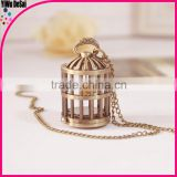 creative necklace watch wholesale Cage pocket watch
