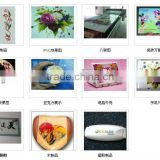 wholesale t shirt printing machine/cotton fabric printers, directly print on garments clothes
