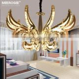 High Quality Rustproof Stainless Steel Crystal Chandelier Modern LED Chandelier Lights Fixture MD81734-L10