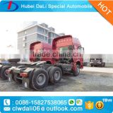 SINO TRUCK HOWO three axel tractor trucks to Ghana