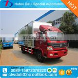 Foton 6 Wheels van truck Dangerous goods transport truck aluminium alloy Explosion-proof van truck for sale